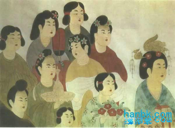 汉服|唐代女性发式(2)