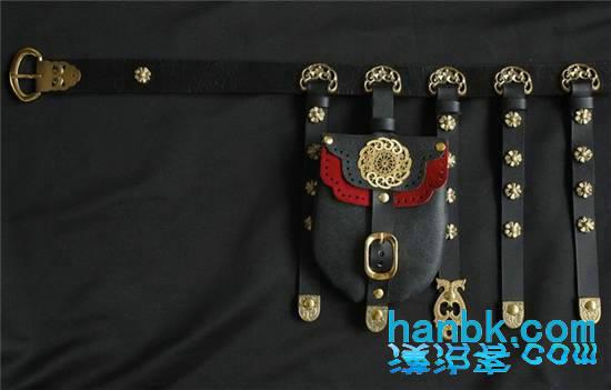 古装腰带的花纹图片