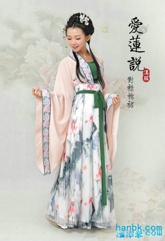 汉服旗袍简笔画